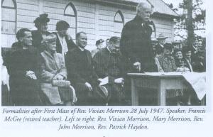 Francis McGee at Tuggeronong 1947