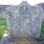 Sacred to the memory of Sarah Dower who departed this life December 28th 1853 aged 45 years leaving 7 children to lament their loss