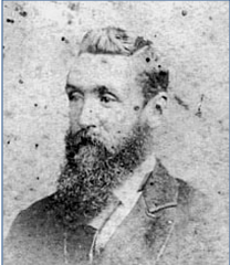 Charles McLean as a young man.